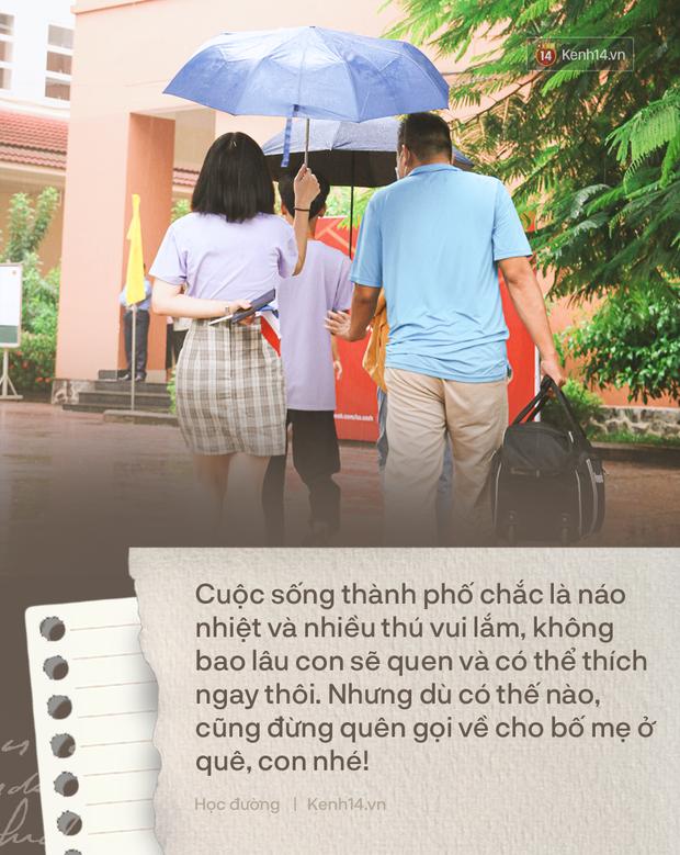 18 tuổi, tân sinh viên lần đầu lên thành phố: Trên đó dù có vui quá nhưng đừng quên gọi về nhà cho bố mẹ - Ảnh 3.