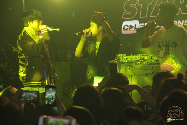 Dàn gà chiến của Rap Việt và King Of Rap chạm mặt nhau, Ricky Star, Lăng LD, Yuno Bigboi, Duy Andy có màn battle sớm! - Ảnh 9.