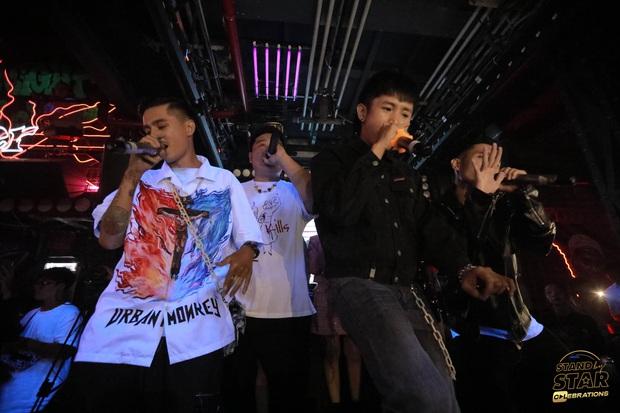 Dàn gà chiến của Rap Việt và King Of Rap chạm mặt nhau, Ricky Star, Lăng LD, Yuno Bigboi, Duy Andy có màn battle sớm! - Ảnh 4.
