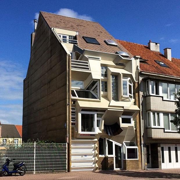 Muốn biết nhà cửa ở đâu dị nhất thế giới, xin mời đến với nước Bỉ! - Ảnh 1.