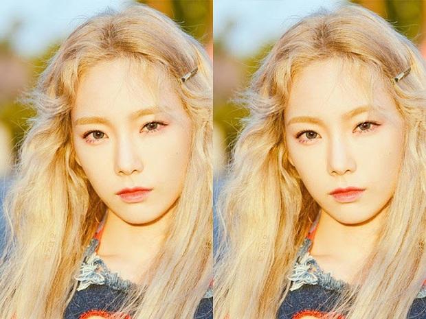 Thử photoshop lông mày cong cho sao Hàn: IU thực sự không hợp, Tzuyu, Seohyun thì nhạc nào cũng nhảy - Ảnh 2.