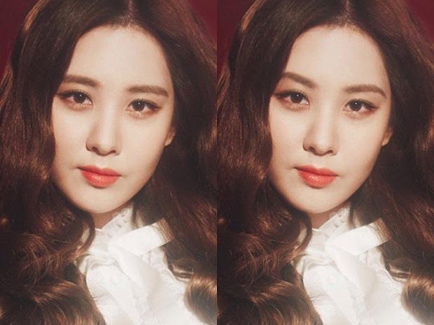 Thử photoshop lông mày cong cho sao Hàn: IU thực sự không hợp, Tzuyu, Seohyun thì nhạc nào cũng nhảy - Ảnh 3.