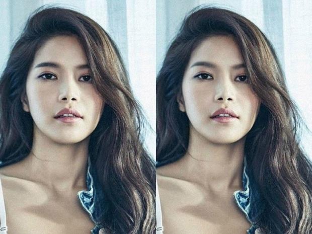 Thử photoshop lông mày cong cho sao Hàn: IU thực sự không hợp, Tzuyu, Seohyun thì nhạc nào cũng nhảy - Ảnh 5.