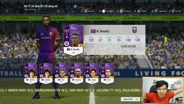 FIFA Online 4: Lấy hết nhân phẩm toàn server, streamer này đã có cú mở thẻ khiến game thủ phải than thở rằng nát game - Ảnh 2.
