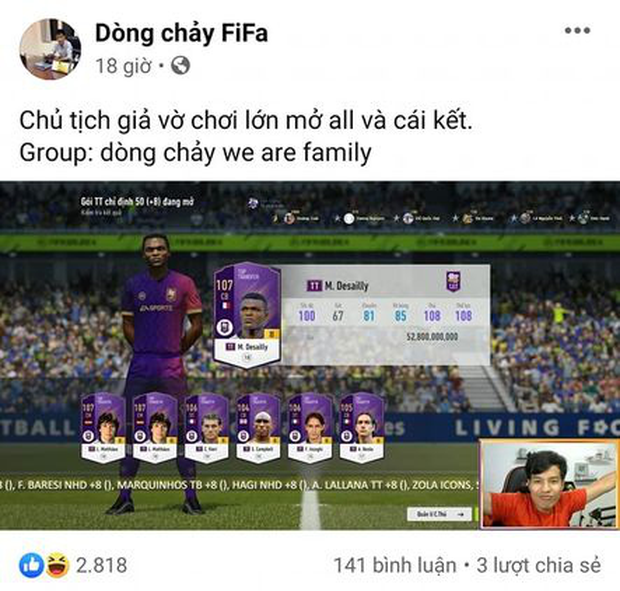 FIFA Online 4: Lấy hết nhân phẩm toàn server, streamer này đã có cú mở thẻ khiến game thủ phải than thở rằng nát game - Ảnh 4.