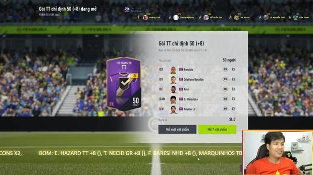 FIFA Online 4: Lấy hết nhân phẩm toàn server, streamer này đã có cú mở thẻ khiến game thủ phải than thở rằng nát game - Ảnh 1.