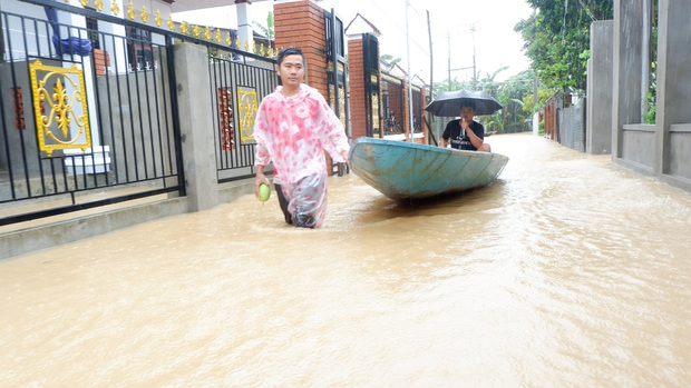 Vỡ đập thủy lợi ở Quảng Nam, hàng trăm ngàn m3 nước đổ xuống hạ du - Ảnh 1.