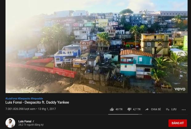 MV nhiều view nhất thế giới đã cán mốc 7 tỷ lượt xem trên YouTube, Baby Shark còn 200 triệu view nữa mới đuổi kịp! - Ảnh 2.
