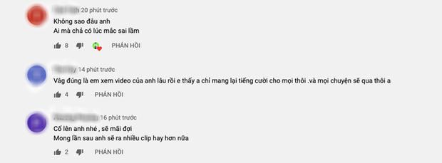 """Cuối cùng Hưng Vlog cũng có động thái chính thức sau loạt lùm xùm gây """"nổ tung"""" MXH gần đây, phản ứng của khán giả mới bất ngờ - Ảnh 3."""