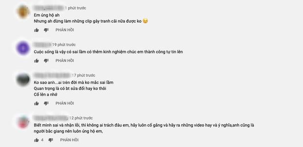 """Cuối cùng Hưng Vlog cũng có động thái chính thức sau loạt lùm xùm gây """"nổ tung"""" MXH gần đây, phản ứng của khán giả mới bất ngờ - Ảnh 4."""
