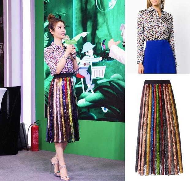 Showbiz Hoa Hàn có những sao nữ mặc đồ xịn mà như đồ chợ, thích phá hàng hiệu hơn cả phá kỷ lục Guinness - Ảnh 10.