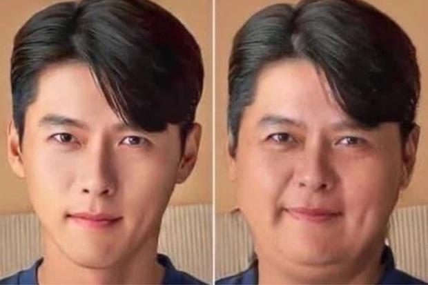 Dispatch đu trend béo mặt thách thức visual dàn tài tử cực phẩm: Lee Min Ho bị dìm thảm hại, sốc nhất Hyun Bin! - Ảnh 3.