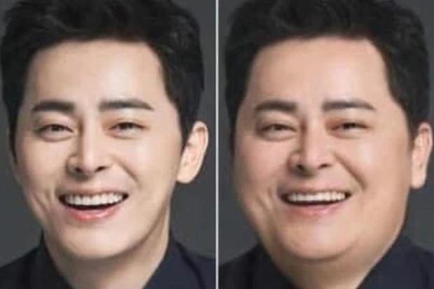 Dispatch đu trend béo mặt thách thức visual dàn tài tử cực phẩm: Lee Min Ho bị dìm thảm hại, sốc nhất Hyun Bin! - Ảnh 4.