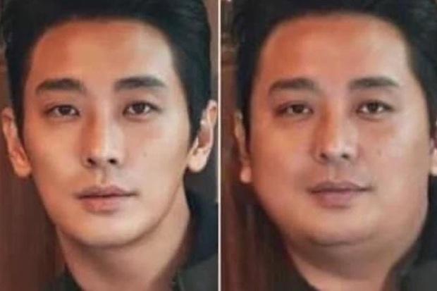 Dispatch đu trend béo mặt thách thức visual dàn tài tử cực phẩm: Lee Min Ho bị dìm thảm hại, sốc nhất Hyun Bin! - Ảnh 5.