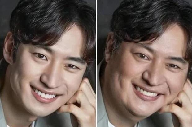 Dispatch đu trend béo mặt thách thức visual dàn tài tử cực phẩm: Lee Min Ho bị dìm thảm hại, sốc nhất Hyun Bin! - Ảnh 6.