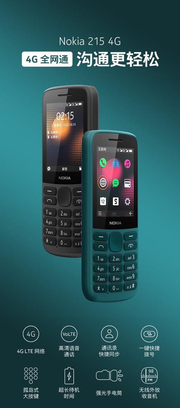 Nokia ra mắt cục gạch 215 và 225, giá từ 1 triệu đồng - Ảnh 1.