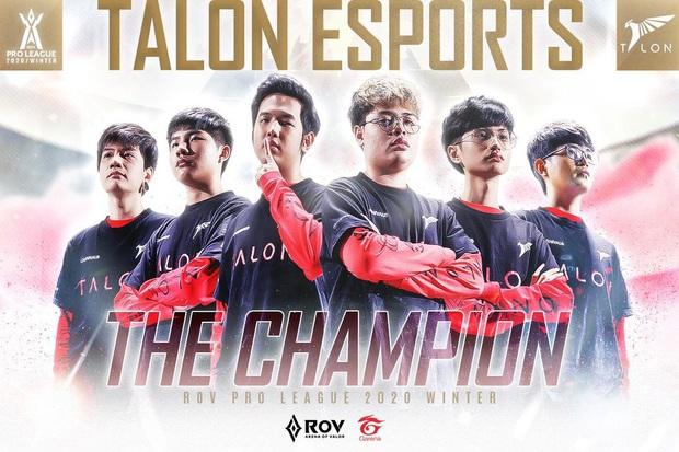 Liên Quân Mobile: Talon Esports trở thành tân vương Thái Lan sau khi đánh bại Buriram United, ẵm trọn 4,4 tỷ đồng tiền thưởng - Ảnh 2.