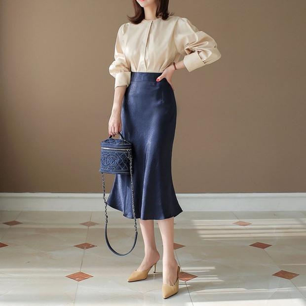 Chân to như cột đình, bạn chỉ cần nhớ 4 tiêu chí chọn quần và váy này thì chân sẽ thon hơn hẳn - Ảnh 8.