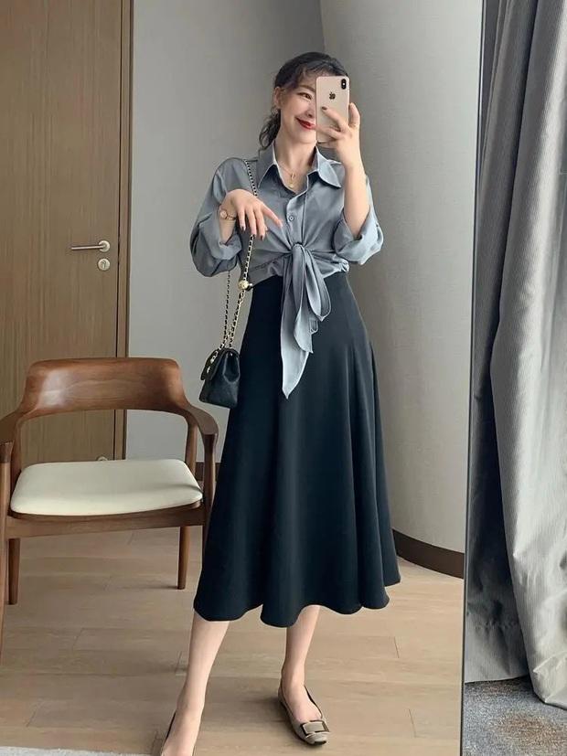 Nàng blogger lên đồ mặc đẹp cả tuần dễ như ăn kẹo với toàn item cơ bản - Ảnh 5.