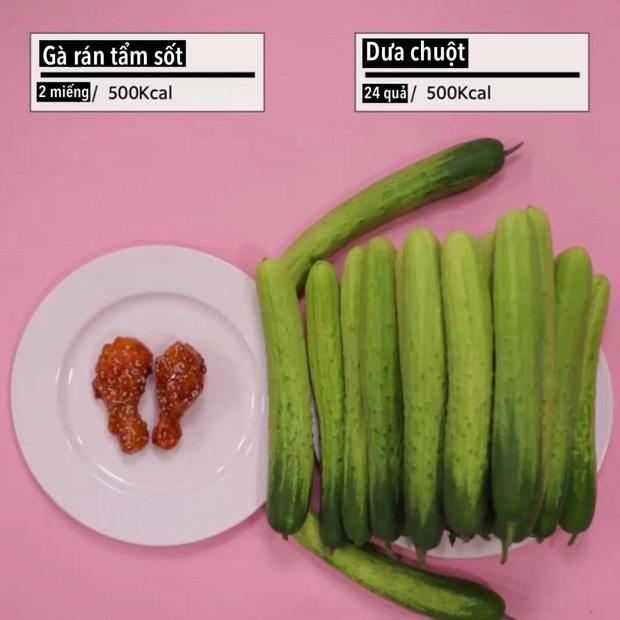 Loạt ảnh quy đổi khiến bạn vỡ lẽ vì sao giảm cân hoài vẫn béo, ăn ít mà vẫn không giảm được cân nào - Ảnh 6.