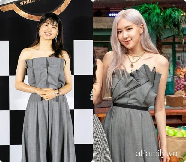Ngọc nữ mới của Song Joong Ki đụng hàng với Rosé: Không so bì nhan sắc nhưng riêng cách mix đồ đã thua xa - Ảnh 6.