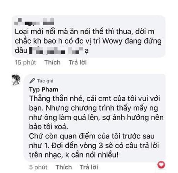 Xôn xao bình luận của 16 Typh team Binz dùng từ nhạy cảm để ám chỉ ai đó không tỉnh táo trên TV - Ảnh 4.