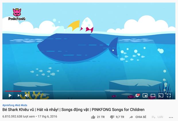 MV nhiều view nhất thế giới đã cán mốc 7 tỷ lượt xem trên YouTube, Baby Shark còn 200 triệu view nữa mới đuổi kịp! - Ảnh 7.