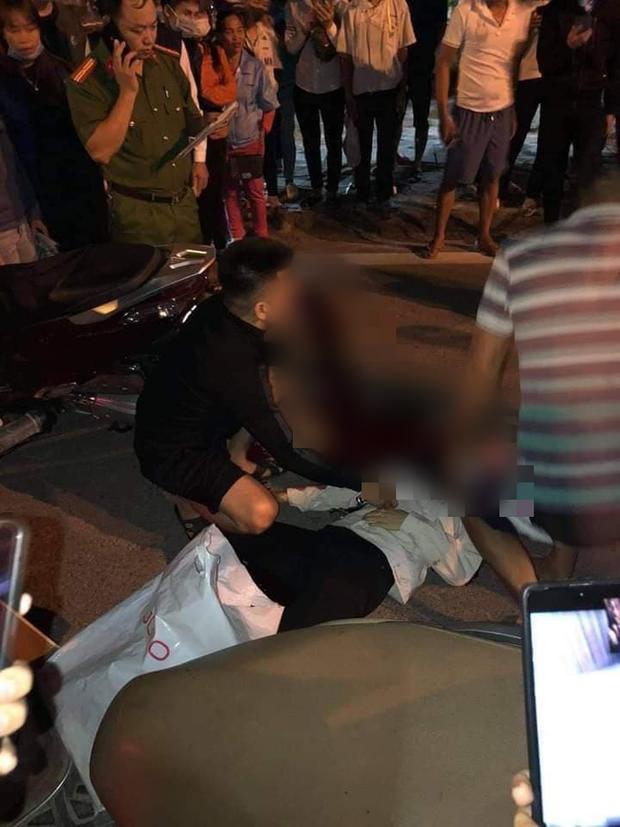 Thái Nguyên: Người phụ nữ bị nam thanh niên dùng dao đâm nguy kịch trên đường - Ảnh 1.