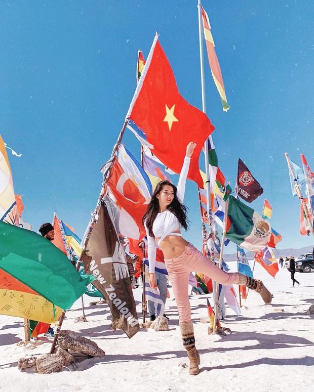 Gái đẹp Việt làm tiếp viên tại hãng hàng không đắt giá nhất hành tinh: Lương gần 1 tỷ/năm, từng đặt chân đến 76 quốc gia - Ảnh 4.
