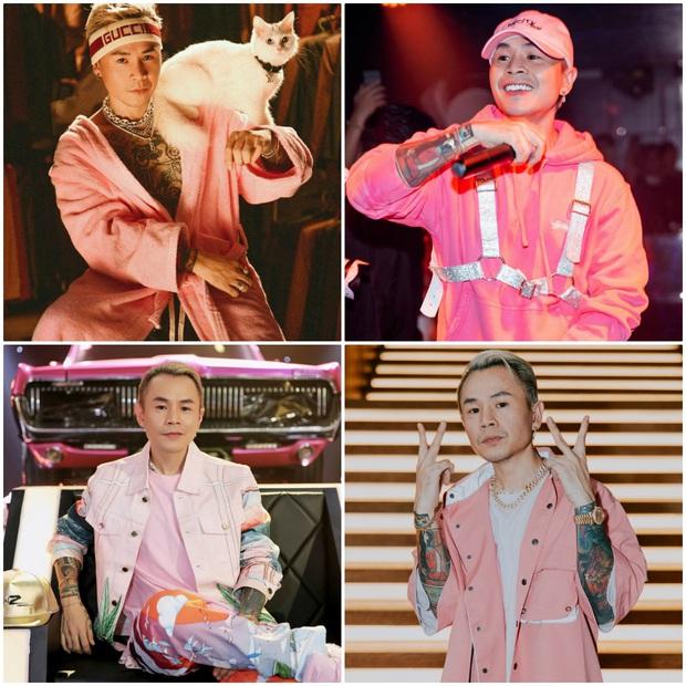 Binz: Thích màu hồng từ lâu mà giờ mới dám mặc - Ảnh 2.
