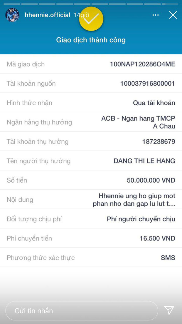 Vợ chồng Lý Hải kêu gọi 600 triệu trong 4 tiếng, H'Hen Niê - Hà Tăng và dàn sao Vbiz chung tay cứu trợ miền Trung mùa lũ - Ảnh 3.
