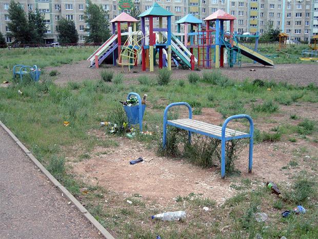 Tuyển tập những sân chơi trẻ em trông chán đời và trầm cảm nhất quả đất - Ảnh 4.