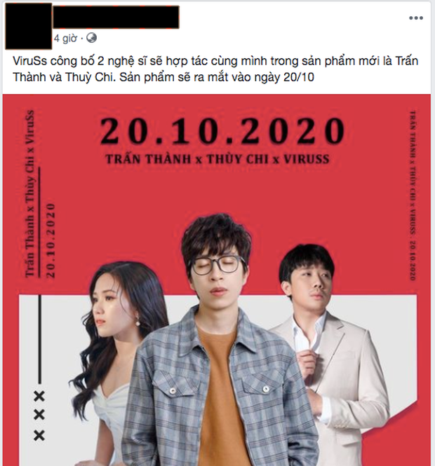 ViruSs vừa chốt kèo 2 khách mời, netizen lập tức mỉa mai Trấn Thành sẽ hóa Thành Cry, khuyên luôn không nên song ca với Thuỳ Chi - Ảnh 3.