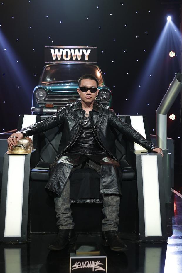Wowy bị chọc ghẹo vì lơ ngơ suốt tập 11 Rap Việt, sốt cao nhưng cố phải tỏ ra bình tĩnh - Ảnh 5.