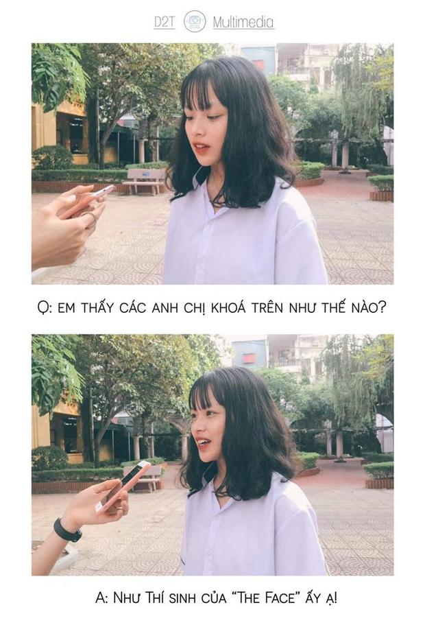 Trường cấp 3 ở Thanh Hoá đi đâu cũng gặp trai xinh gái đẹp, lớp 10 thôi mà vô cùng sắc sảo mặn mòi - Ảnh 1.