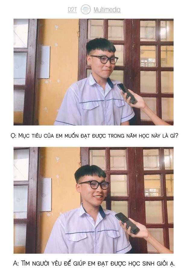 Trường cấp 3 ở Thanh Hoá đi đâu cũng gặp trai xinh gái đẹp, lớp 10 thôi mà vô cùng sắc sảo mặn mòi - Ảnh 17.