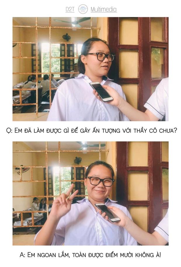 Trường cấp 3 ở Thanh Hoá đi đâu cũng gặp trai xinh gái đẹp, lớp 10 thôi mà vô cùng sắc sảo mặn mòi - Ảnh 13.