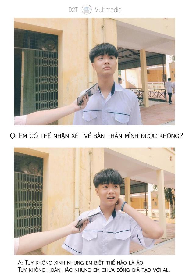 Trường cấp 3 ở Thanh Hoá đi đâu cũng gặp trai xinh gái đẹp, lớp 10 thôi mà vô cùng sắc sảo mặn mòi - Ảnh 19.