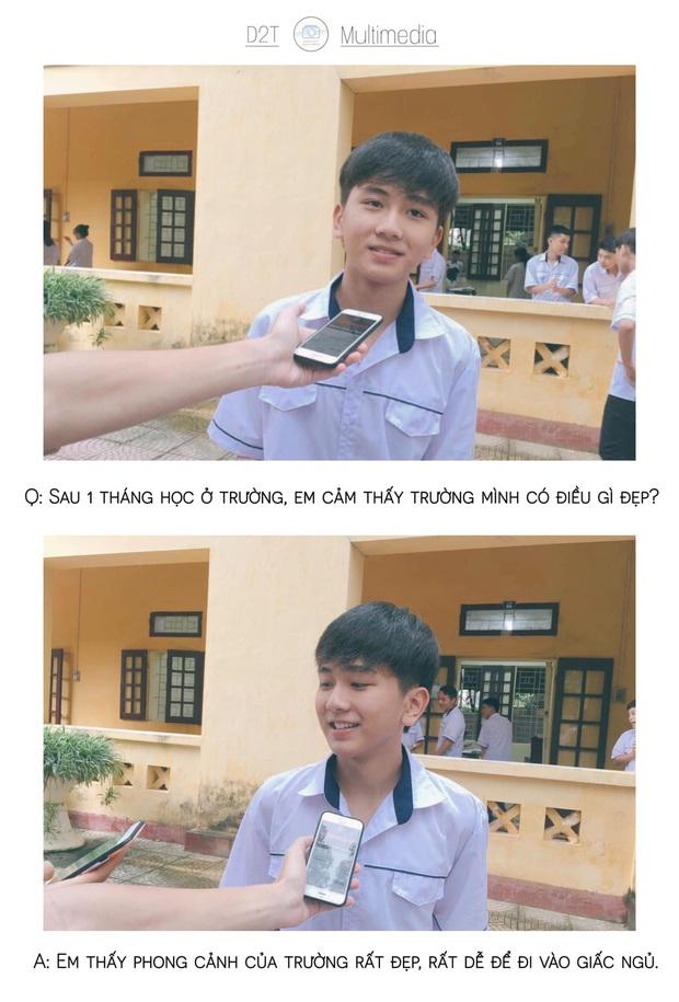 Trường cấp 3 ở Thanh Hoá đi đâu cũng gặp trai xinh gái đẹp, lớp 10 thôi mà vô cùng sắc sảo mặn mòi - Ảnh 3.