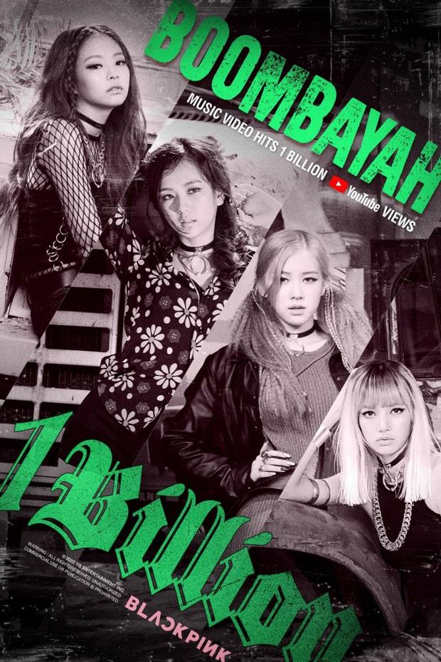Boombayah đã cán mốc 1 tỷ view, BLACKPINK một lúc lập 2 kỷ lục mới và gia tăng cách biệt với BTS nhờ bản hit debut - Ảnh 1.