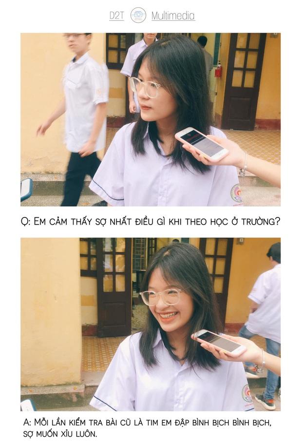 Trường cấp 3 ở Thanh Hoá đi đâu cũng gặp trai xinh gái đẹp, lớp 10 thôi mà vô cùng sắc sảo mặn mòi - Ảnh 5.