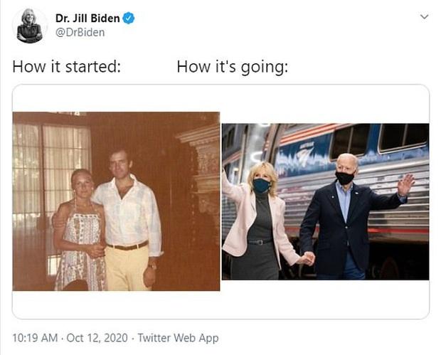 Trào lưu bắt đầu và kết thúc gây sốt trở lại với sự hưởng ứng hài hước của dân mạng, vợ của ông Joe Biden cũng kịp bắt trend - Ảnh 5.