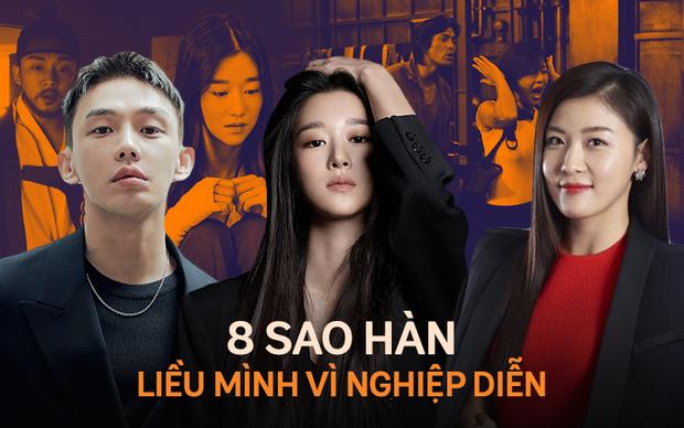 8 diễn viên Hàn xả thân vì nghiệp diễn: Jang Geun Suk nhai rắn độc, Seo Ye Ji liều mình hít khí than diễn cảnh tự sát - Ảnh 1.