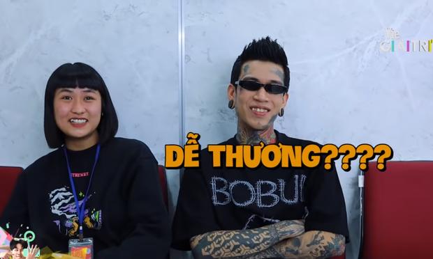 Dế Choắt lần đầu khoe bạn gái tại hậu trường Rap Việt đã bị bóc phốt 1 tuần chỉ tắm 1 lần - Ảnh 5.