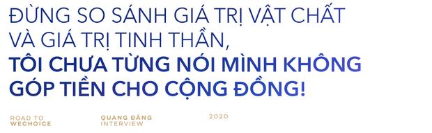"""Quang Đăng: """"Ghen Cô Vy là định mệnh thay đổi cuộc sống và giúp tôi có bản lĩnh chinh phục những giá trị mới để phụng sự cộng đồng!"""" - Ảnh 4."""