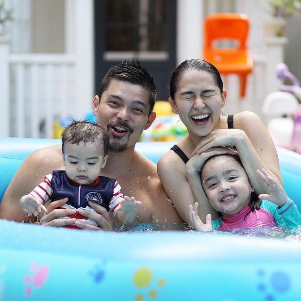 """Mỹ nhân đẹp nhất Philippines khoe ảnh gia đình """"sốc visual"""", bé Zia chiếm trọn spotlight: Xinh thế này bảo sao cát xê khủng hơn cả mẹ - Ảnh 6."""