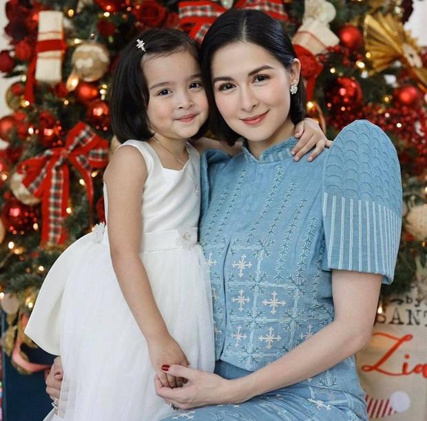 """Mỹ nhân đẹp nhất Philippines khoe ảnh gia đình """"sốc visual"""", bé Zia chiếm trọn spotlight: Xinh thế này bảo sao cát xê khủng hơn cả mẹ - Ảnh 3."""