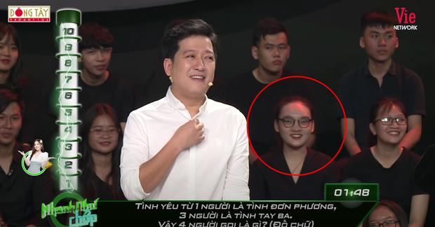 Người yêu tin đồn anh quay phim Rap Việt tiếp tục làm khán giả ở Nhanh Như Chớp, được xếp vị trí đắc địa tia là dính - Ảnh 4.