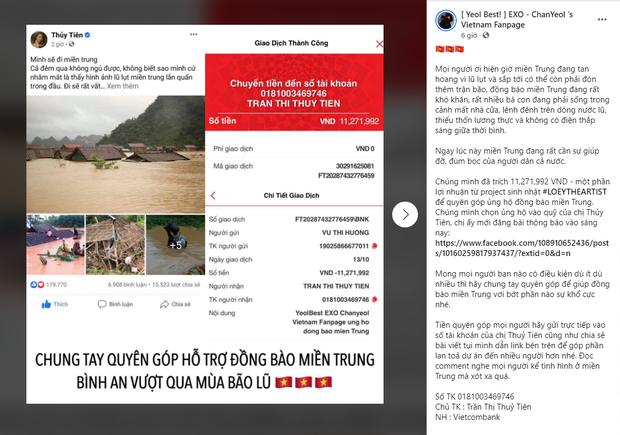 FC BLACKPINK, BTS, Suju và loạt fandom Việt cứu trợ miền Trung: Con số lên đến hơn 100 triệu, hành động đẹp đánh bay định kiến về fan Kpop! - Ảnh 7.