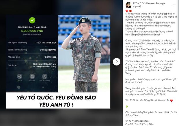 FC BLACKPINK, BTS, Suju và loạt fandom Việt cứu trợ miền Trung: Con số lên đến hơn 100 triệu, hành động đẹp đánh bay định kiến về fan Kpop! - Ảnh 6.